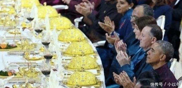 """国宴上@""""国宴""""的人均标准只有200元,看了这些菜后,网友:我信了!"""