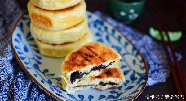 调节 加能量早餐蛋糕,枸杞红糖调节血液,早餐小吃可以!